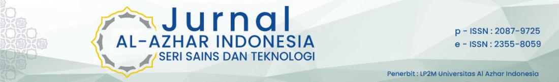 Jurnal AL - AZHAR INDONESIA